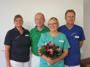 Kathrin Spörrer hat im Oktober 2016 ihre Fortbildung zur ZMP (Zahnmedizinische Prophylaxeassistentin) mit Erfolg abgeschlossen.