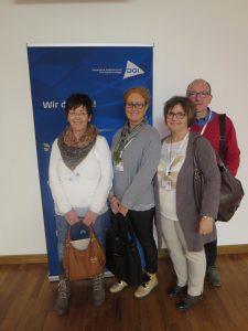 Dr. Albert Holler hat zusammen mit Heike Genari, Anja Scherer und Petra Schraml im November 2016 die Fortbildung der DGI in Hamburg besucht