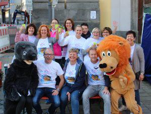 """Im September 2016 haben wir die """"Zahndisco für Kinder"""" auf dem Tag der Zahngesundheit in Marktredwitz betreut. Organisiert wurde die Veranstaltung von der LAGZ."""